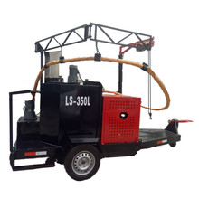 paver asphalt trailer sealing crack machine for sale