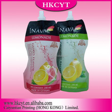 High quality glossy finished healthy spout packing pouch