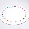 Low MOQ 4 5 6 7 8 10 14mm Loose ABS Plastic Pearls For DIY and Craft Supplies