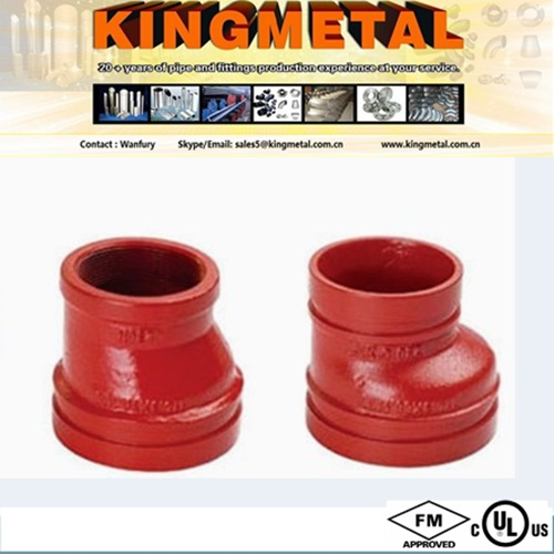 "2""-10"" Piping and plumbing fitting Grooved fitting Reducer"