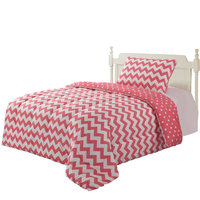 P-Dots Chevron Comforter Set