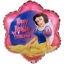 PRINCESS SNOW WHITE Mylar BALLOON Decoration Party Birthday Favor Treat Disney by Lgp
