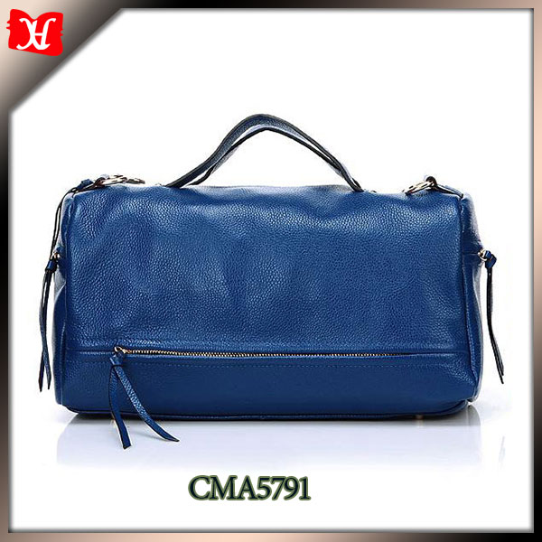 Fashion style make your own genuine leather handbag factory