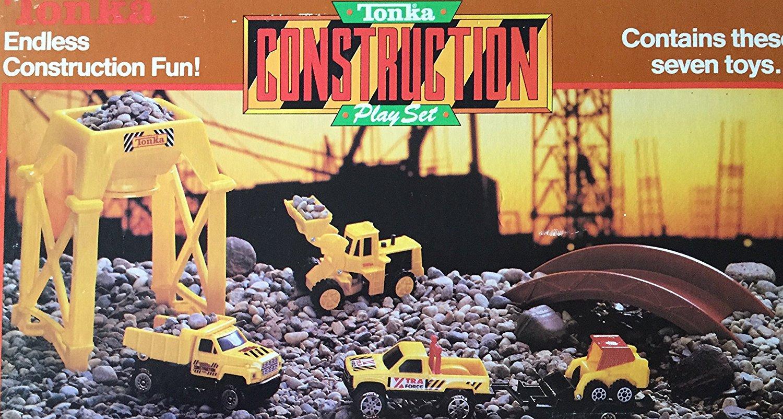 Tonka Construction Toys For Boys : Vintage tonka toys highway construction