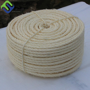 8mm jute rope 3 strand twisted sisal jute rope for sale