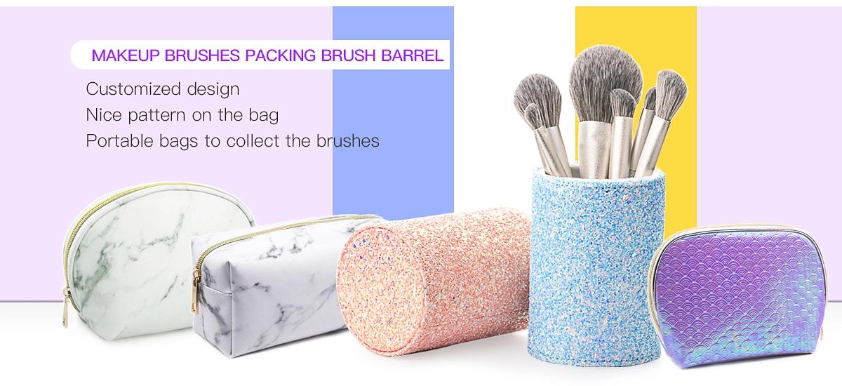 Synthetic vegan makeup brush best makeup brush set private label cosmetic brushes