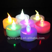 3.6cm*3.6cm Colorful Change Flameless Seven Candle Holder