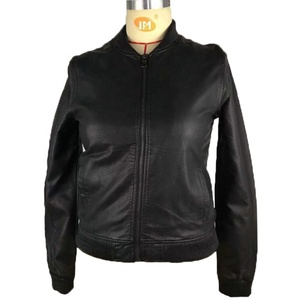 Pinghu Times 2019 New Design OEM Wholesale Custom Strong Waterproof Autumn Pakistan Leather Jacket For Women