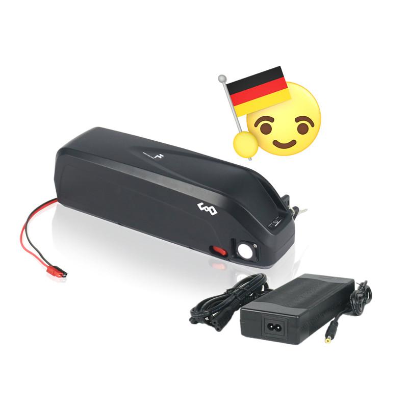 Deutschland Ship Akku INR18650 MH Li ion 48V 16Ah 1000W Electric Bike Roller Battery with Charger фото