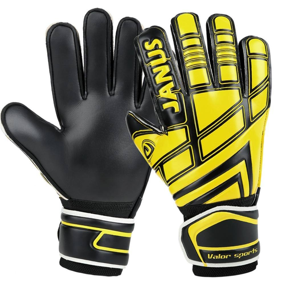 Get Quotations · JUNAS 390 Fingersave Junior Goalkeeper Gloves 07f093de8584
