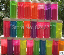 NEON Peach Color Shiny Fluorescent Phosphor Powder Decoration Pigment Material for Nail Polish Painting Printing