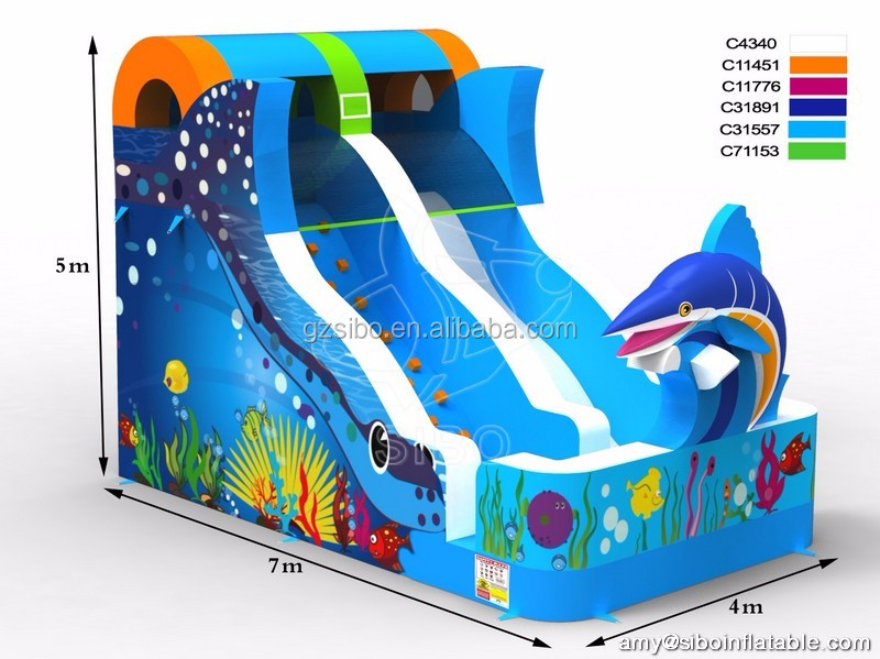 Good quality custom Inflatable Slide for kids