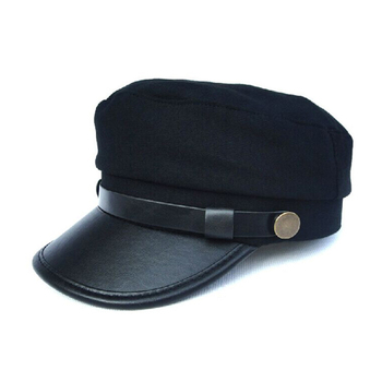 Leather Brim Army Uniform Military Hat Manufacturer - Buy Military Hat ... 235cd3d48fd