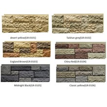 Polyurethane High Quality Beauty Cheap Decorative Wall Panel PU faux stone panels wholesale