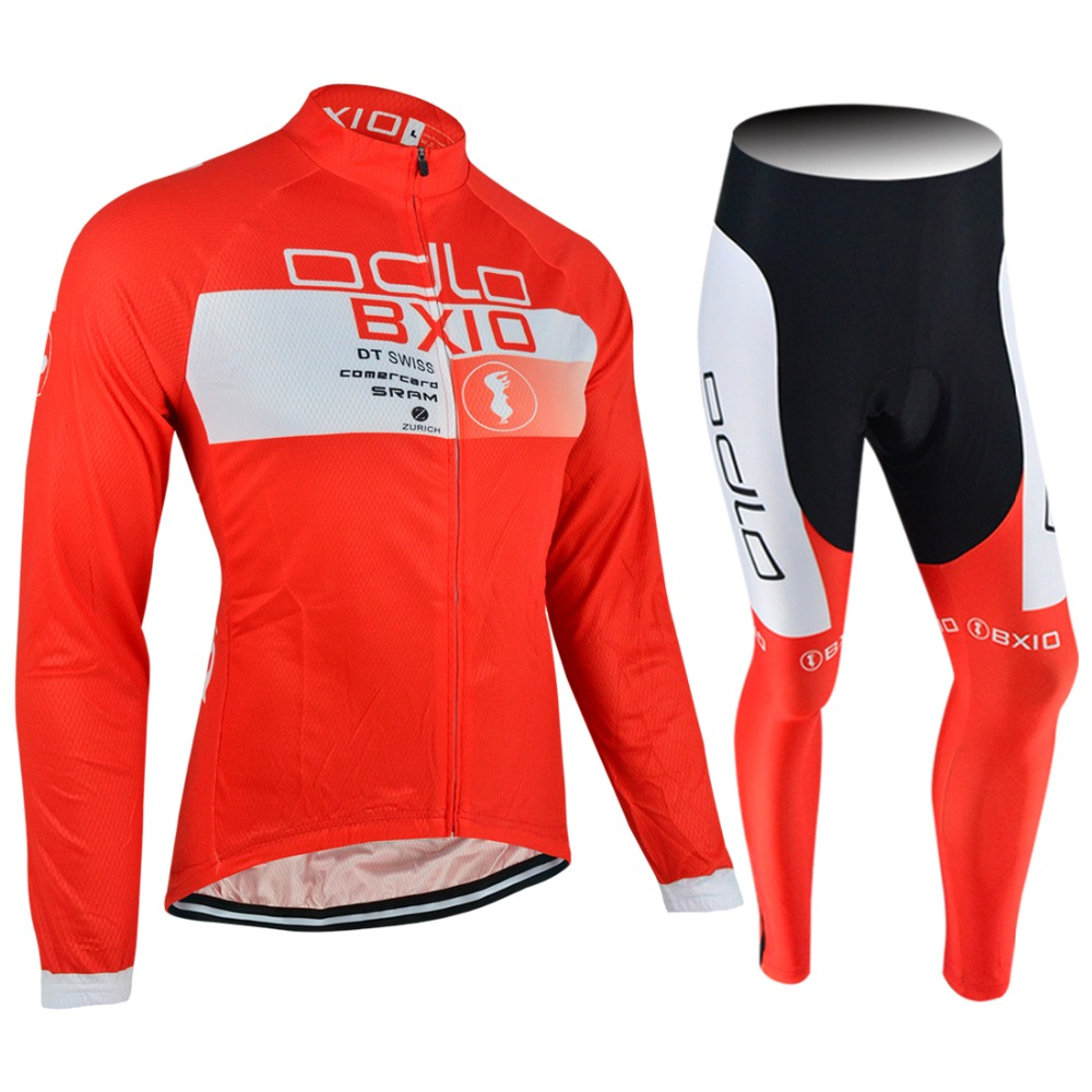 BXIO Ropa Ciclismo Mountain Team Bike Clothing Long Pant Without Bib Winter Cycling Jersey Bicycle Sportswear BX0108R050NB