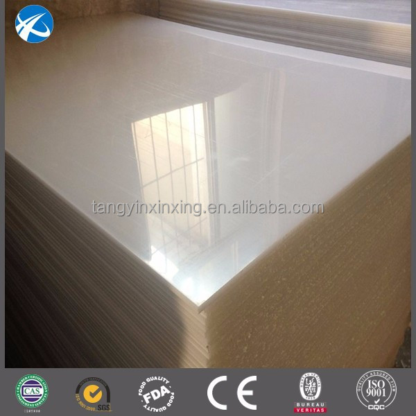 hard wear LDPE virgin plastic for mould test/customized virgin LDPE mat
