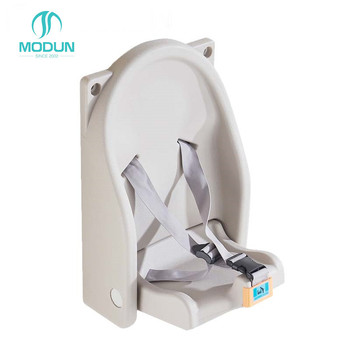 milk sliver anti-bacterial PE wall mount toilet protect foldable baby chair