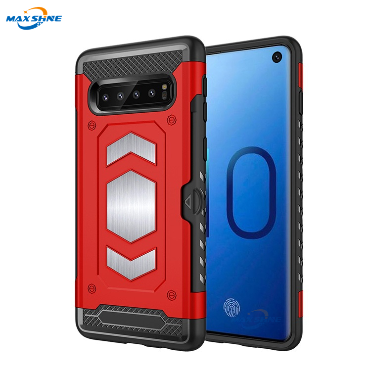Maxshine Wholesales Creative Cover For Samsung S10 Lite , 2 In 1 Phone Case For Samsung Galaxy S10 Phone Case Shockproof фото
