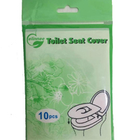 Disposable Travel Pack Toilet Seat Paper Cover