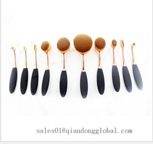 Manufactory provide brush for make up brush oval wholesale