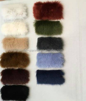 1200g/m Short hair faux fur