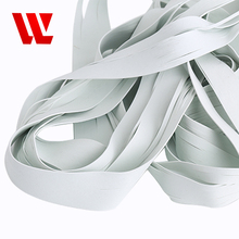 2018 popular heat resistant sewing elastic extruded eco-friendly latex free rubber tape thread for bandage clothing