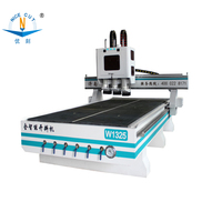 Jinan NC 1325 Auto feeding system cnc woodworking carving machinery