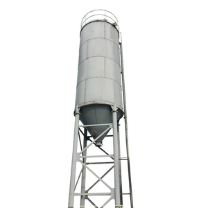 100T Concrete Ash Fly Storage Cement Hopper Silo