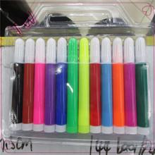venta caliente nios conjunto de papelera conjunto pluma del color de agua respetuoso del medio