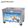 Commercial Single or Double Pan Fried Ice Cream Roll Machine For Sale