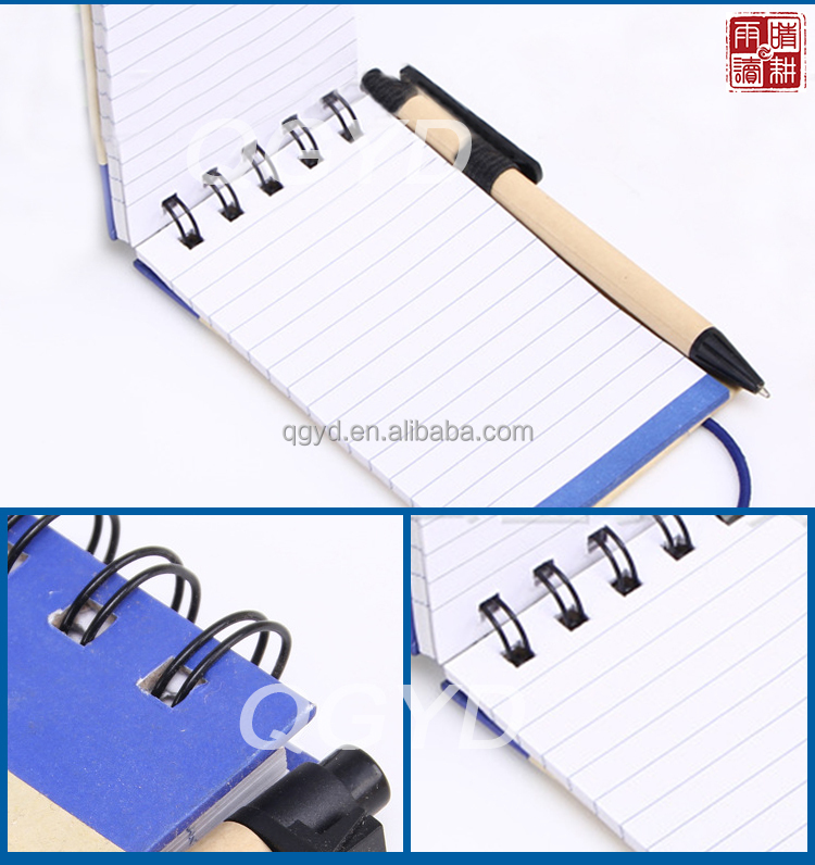 Promotional Pocket Notepad With Pen
