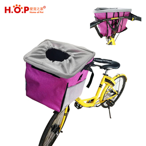 2018 Amazon Hot Pet Products 3 In 1 Front Bicycles Basket Dog Bike Pet Bag Carrier for Bicycle