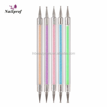 Nailprof Nail Dotting Pen Kits 5pcs Art Pens In 2 Ways For Design