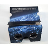 Cheap cardboard 3d glasses colorful branded google cardboard vr 3d glasses