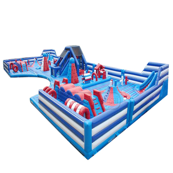 New large inflatable games supplier inflatable fun park amusement park