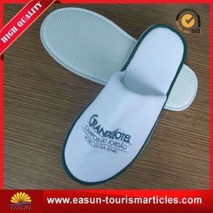 Wholesale hotel spa medical non woven terry inflight slippers