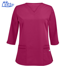 Wholesale japanese 3/4 sleeve sexy nurse and doctor uniform for female