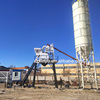 Construction types 50m3 concrete batching plant with cement silos