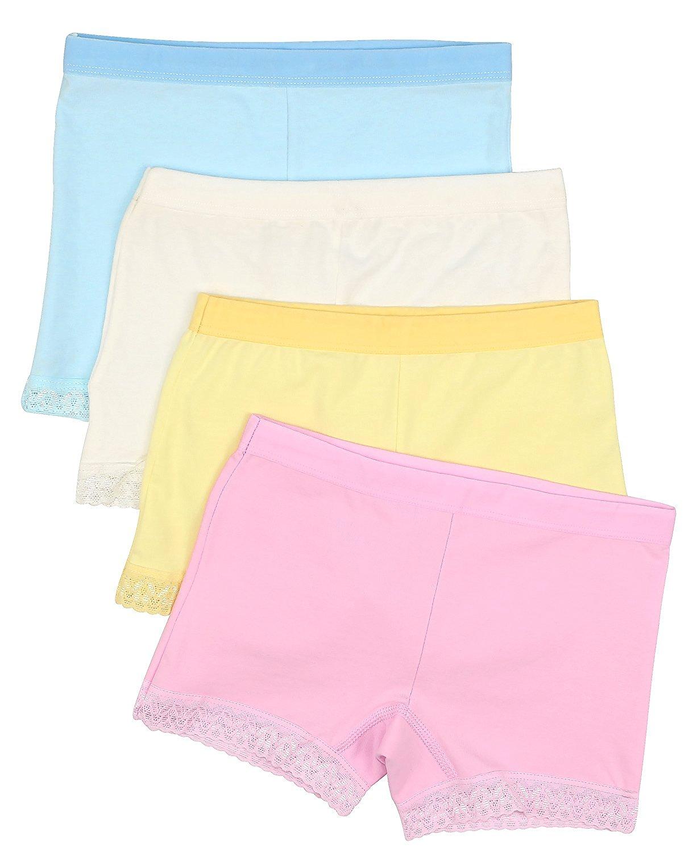 74205ce36d34 BOOPH Girls Underwear Toddler Little Hipster Boyshort Kids Briefs Cotton  Panties Mode für Mädchen