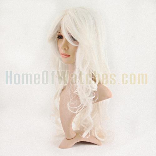 65 см белый длинные парики кудрявые парики ( NBW0WG60096-WH2 )