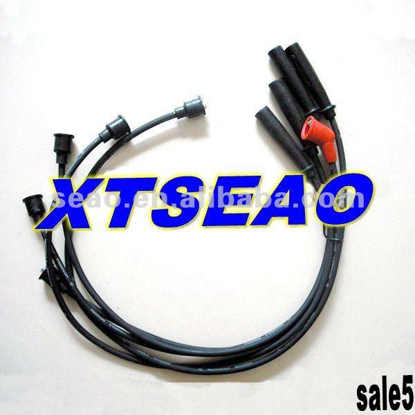 Car Ignition Silicone Spark Plug Wire, Car Ignition Silicone Spark ...