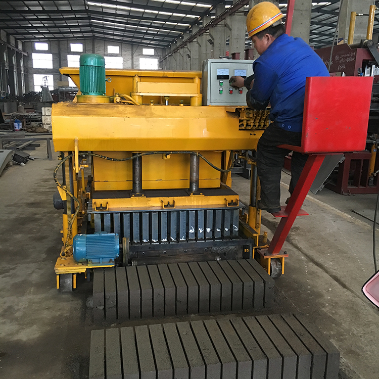 High quality concrete block manufacturing machine,6 inches hollow block making machine