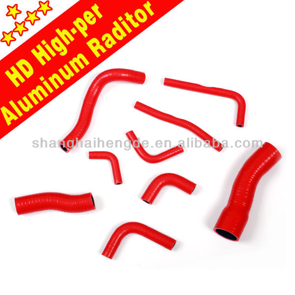 Motorcycle water silicone hose kit for KTM 350 SX-F / XC-F 11 - 12