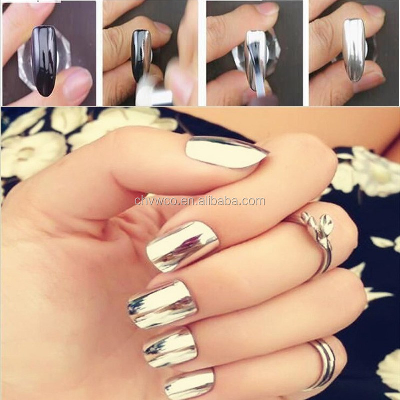 Mirror Effect Pigment Powder Coating For Nail Art - Buy Acrylic ...