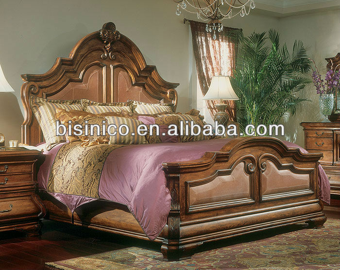 American wooden bedroom furniture sets,American country style