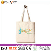 Andes Heavy Duty Canvas Music Tote Bag Handmade from Pure 12 Ounce Cotton Best for Toting Books to Piano Violin Lessons