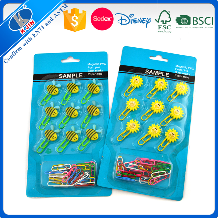 Customized shape paper clip Stock paper clip