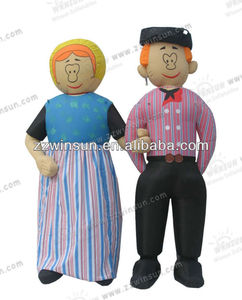 2014 Inflatable Married Couple,Married Couple for wedding,mascot,Cartoons & Characters