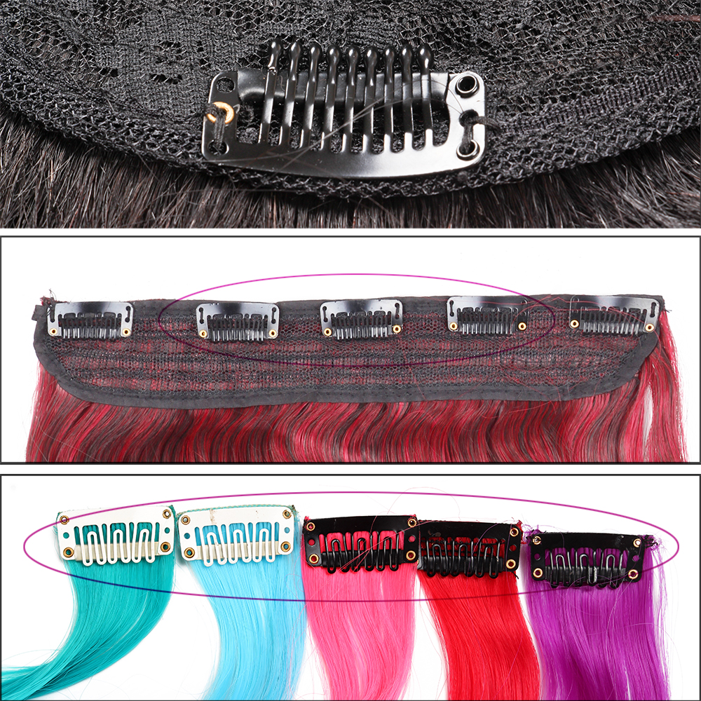 AliLeader Wholesale U-shape Snap Clips Metal Clips For Hair Extensions