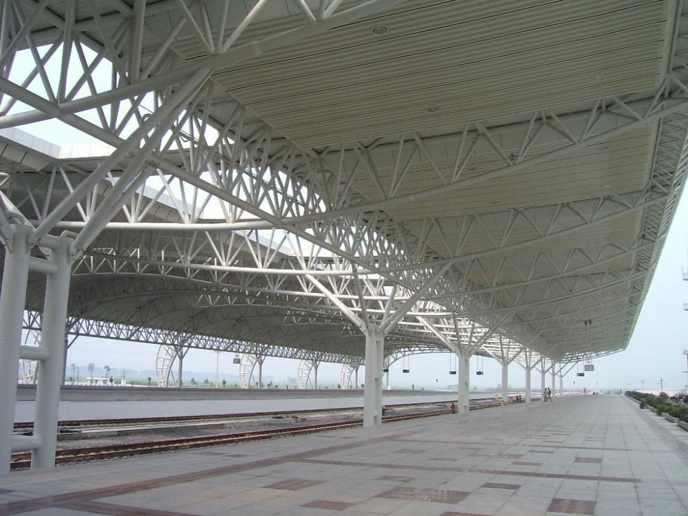 Aircraft Hangar Building Space Frame Steel Truss Roof